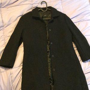 J.Crew Black Wool Coat